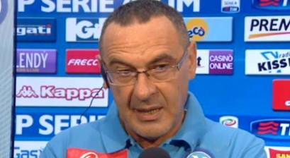 Napoli, la Lega risponde a Sarri: