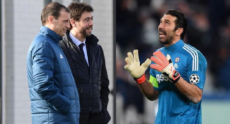 Agnelli propone rinnovo, ma Buffon è furioso per le cifre. E Allegri pensa a Szczesny…