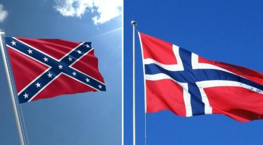 Giornalista del NY Times scambia bandiera Norvegia per quella secessionista e chiama la polizia