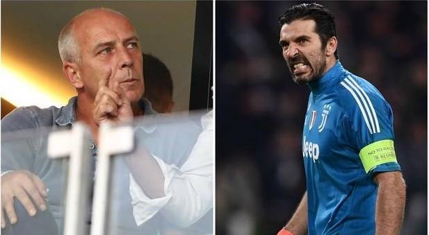 """L'ex campione d'Europa: """"Buffon, ritirati, con te niente Champions"""". Lui: """"Parlerò con Agnelli"""""""