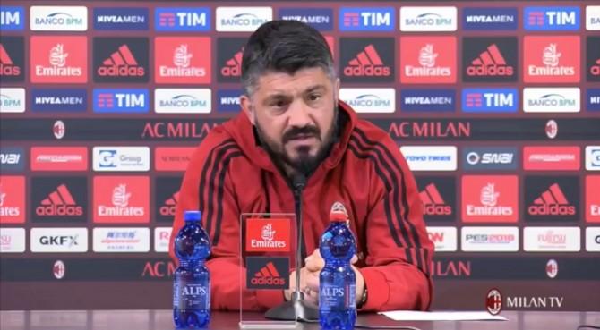 """Milan, Gattuso dispensa consigli a Cutrone: """"Si fidanzi, così pensa solo a lavorare e a… fare l'amore"""""""