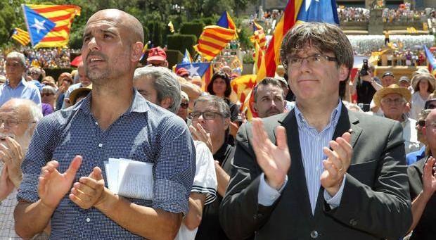 Indipendenza Catalogna, la Guardia Civil perquisisce aereo di Guardiola