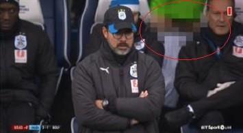 Premier League, Danny Williams dell'Huddersfield mostra il pene in panchina