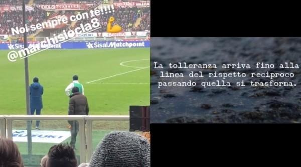 """Juve, la moglie di Marchisio si sfoga sui social: """"La tolleranza arriva fino…"""""""