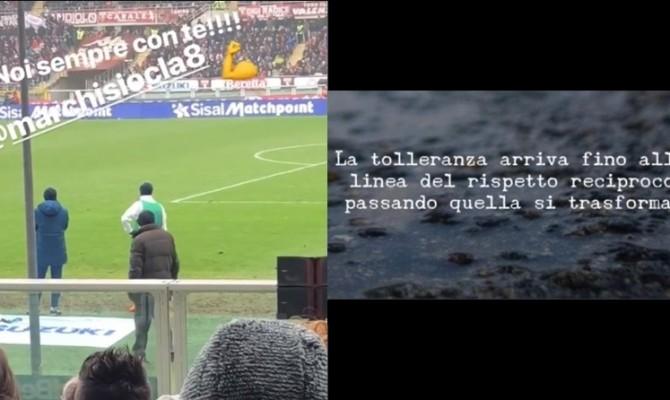 Marchisio in panchina, la moglie attacca su Instagram: 'La tolleranza...' FOTO