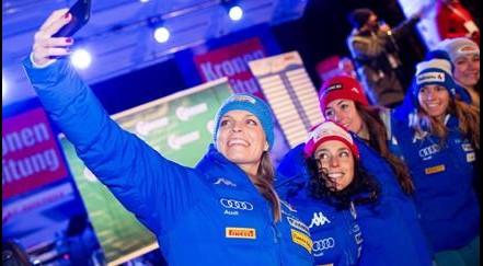 Olimpiade di Pyeongchang, nella notte 4 azzurre per la medaglia nello slalom gigante