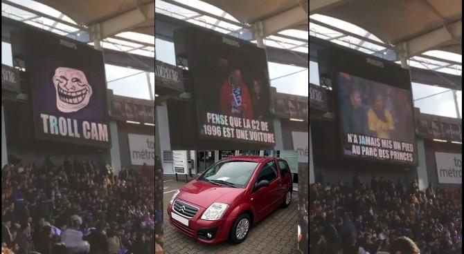 """Il Tolosa s'inventa la """"Troll Cam"""": meme istantanei sui tifosi (avversari) allo stadio"""
