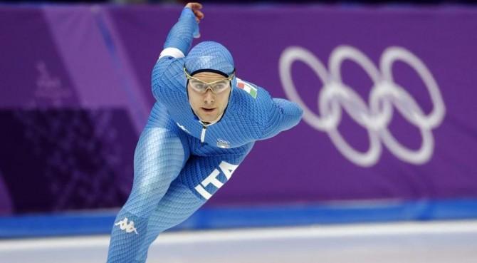 Nicola Tumolero bronzo olimpico nei 10000 metri del pattinaggio di velocità!