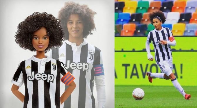 Arriva la Barbie della Juventus, è ispirata al capitano Sara Gama