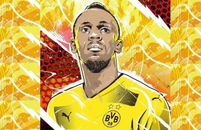 """Bolt si dà al calcio, venerdì altro provino col Borussia Dortmund: """"Gioco ala sinistra"""""""