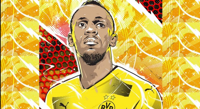 Bolt, primo allenamento con il Borussia Dortmund