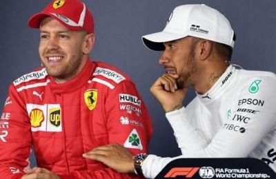 """Australia, Hamilton sbeffeggia Vettel: """"Volevo toglierti quel sorriso dalla faccia"""""""