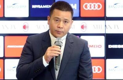 Milan, la Procura indaga su Yonghong Li per falso in bilancio