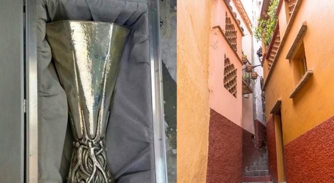 Messico, rubata l'Europa League: la polizia locale la ritrova poco dopo