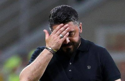 """Milan, tonfo in casa col Benevento! Gattuso: """"Che polli, sembriamo una banda musicale"""""""