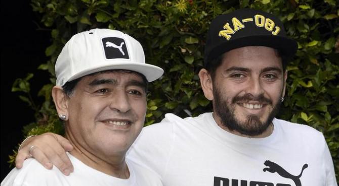 """Maradona nonno, è nato il figlio di Diego jr.: """"Me lo ..."""