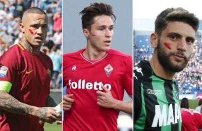 Violenza sulle donne, Serie A in campo con un segno rosso sul viso per dire basta