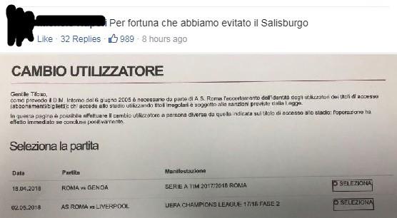 """Liverpool-Roma e la Lazio eliminata, le reazioni social: """"Meno male che non abbiamo preso il Salisburgo"""""""