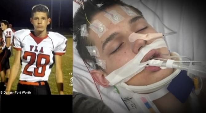 """Giocatore di football di 17 anni si risveglia dopo 20 minuti senza battito: """"Ho visto Gesù"""""""