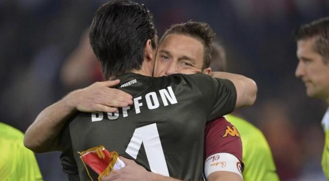 La lettera di Totti a Buffon:
