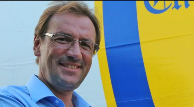 Chievo, team manager colpito da schiaffo