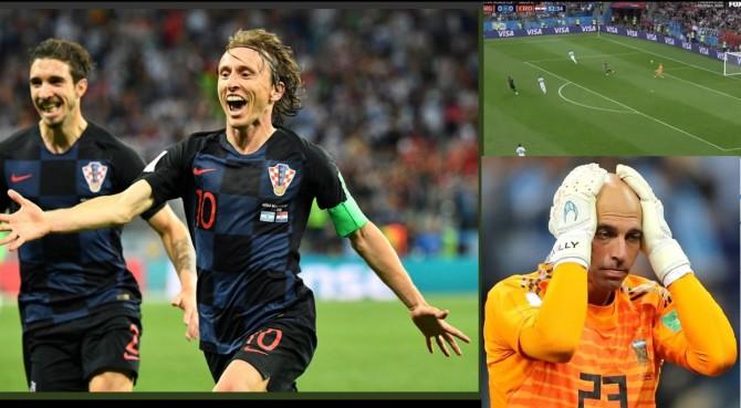 Croazia show! Argentina demolita e con un piede fuori: Messi delude ancora, Caballero horror