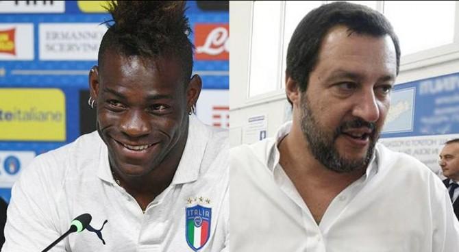 """Balotelli: """"Straniero per 18 anni. Dove gioco? Chiedete a Salvini"""". La risposta: """"Niente ius soli, pensa al pallone"""""""