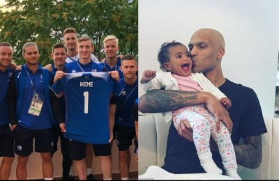 Islanda, l'omaggio al portiere della Nigeria che ha dovuto rinunciare al Mondiale per la leucemia
