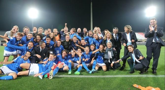 Italia, le femmine meglio dei maschi: settima vittoria su 7 e volano al Mondiale