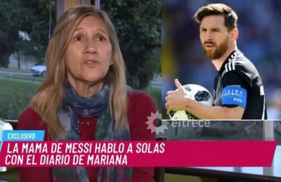 """Parla Celia, mamma di Messi: """"Leo sta soffrendo e a volte piange"""""""