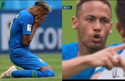 """Pioggia di critiche su Neymar: simulazione, pianto e """"figlio di p..."""" all'avversario"""