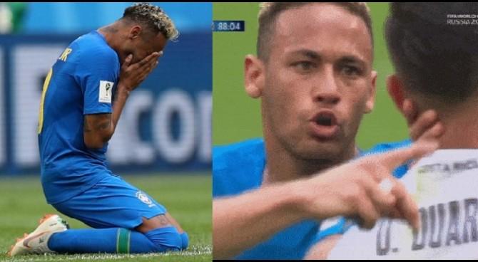 """Pioggia di critiche su Neymar: simulazione, pianto e """"figlio di p…"""" all'avversario"""