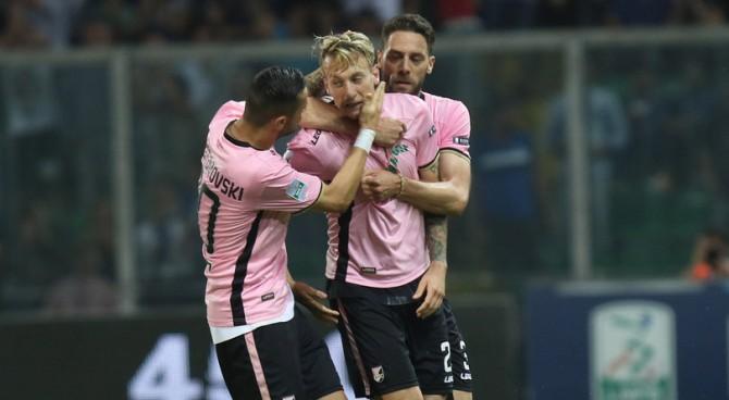 Play-off, Palermo in rimonta sul Frosinone: con un pareggio per la squadra di Stellone è Serie A