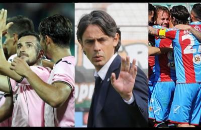 Play-off di Serie B e Serie C, si gioca per la finale. Scendono in campo Palermo, Catania e Pippo Inzaghi