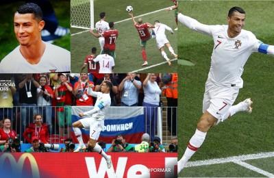 Portogallo, segna ancora (e solo) Ronaldo: e provoca Messi con il pizzetto
