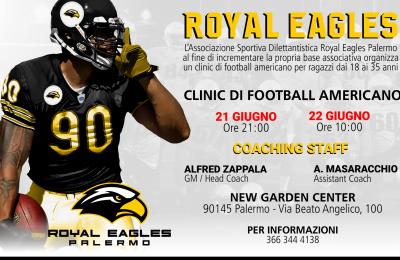 Football americano: i Royal Eagles Palermo a caccia di nuovi talenti con coach Alfred Zappalà