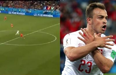 Svizzera-Serbia, Tosic si dimentica la regola del fuorigioco: Shaqiri segna e mima l'aquila dell'Albania