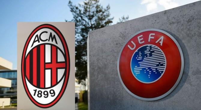 Milan, il comunicato ufficiale della UEFA: escluso dalle coppe per una stagione