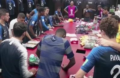 Il vibrante discorso di Pogba ai giocatori della Francia prima della finale mondiale
