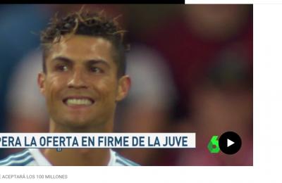 Cristiano Ronaldo: il Real Madrid aspetta soltanto il fax con l'offerta della Juve