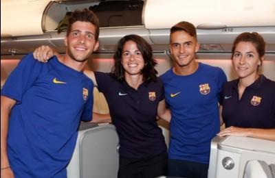 Barcellona, autogol... aereo: strombazza la 'parità dei sessi' ma la squadra femminile viaggia in economy