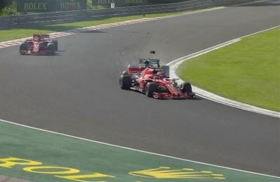 Ungheria, Hamilton vince in solitaria. La Ferrari pasticcia ma Bottas gioca agli autoscontri