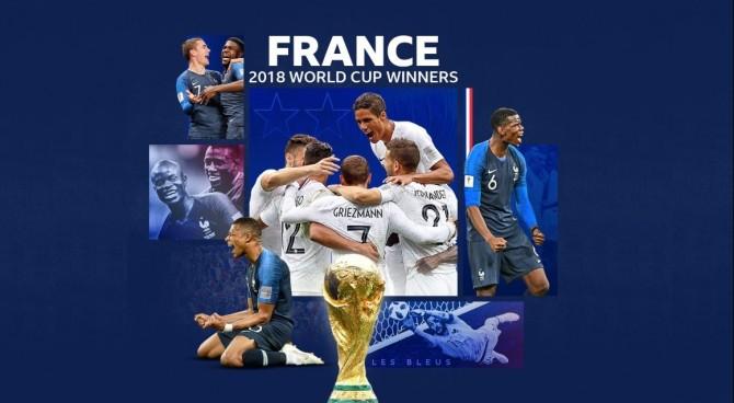 Francia campione del Mondo, 4-2 sulla Croazia: suicidio avversario nel primo tempo, poi prende il largo