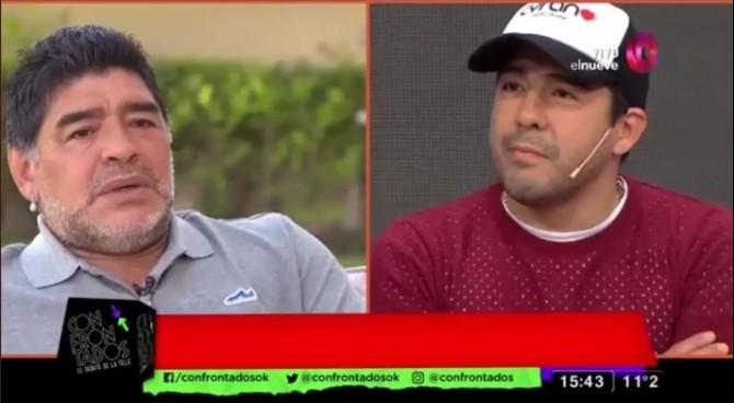 """Maradona insulta il nipote: """"Cagòn, mi hai rubato i soldi e distrutto un sacco di auto"""""""