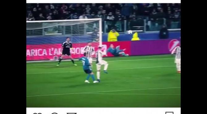 Il gol di Cristiano Ronaldo alla Juve è il più bello della stagione. Lui ringrazia i tifosi dello Stadium