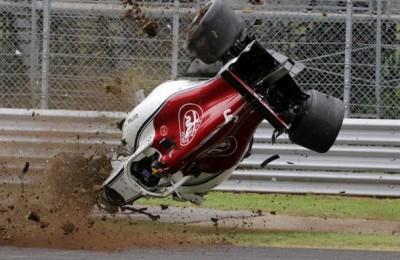 Il DRS non si chiude: terribile incidente di Leclerc nelle libere a Monza