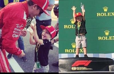 """Raikkonen racconta il figlio Robin: """"È il mio migliore amico, l'unico che può farmi domande sul mio lavoro"""""""