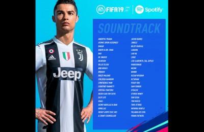 Ecco la colonna sonora di Fifa 19 di EaSports: c'è anche Ghali