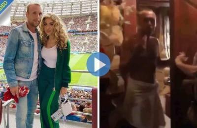 Glushakov dello Spartak Mosca beccato dalla moglie in sauna con un'altra donna