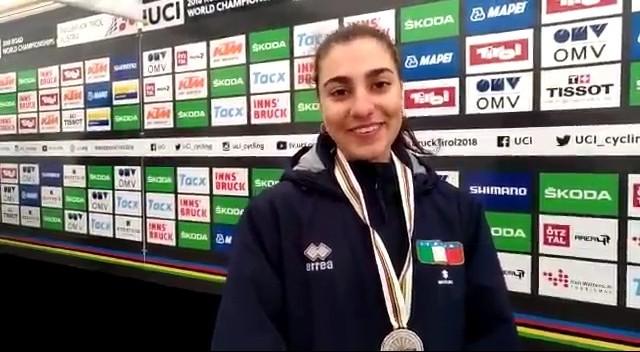 Mondiali Innsbruck, seconda medaglia azzurra con l'argento di Camilla Alessio nella prova juniores